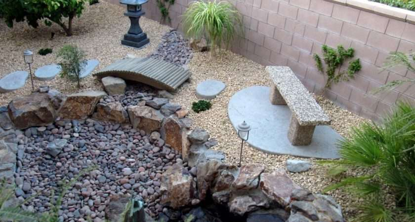 Landscape Rocks Garden Ideas Pebble