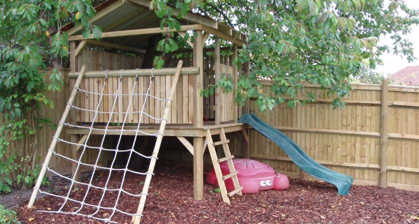 Landscapes Ltd Play Houses Forts Garden Design Landscaping