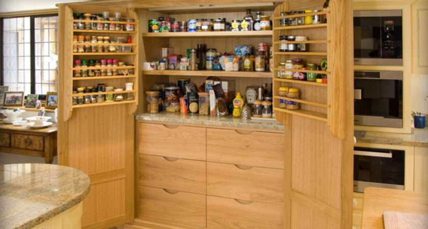 Larder Another Idea Give Retro Feel Your Kitchen