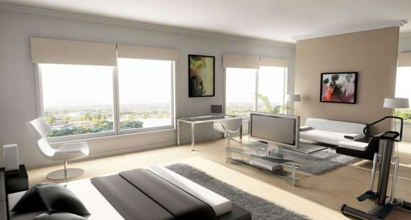 Large Bedroom Provides Open Choice Decorate