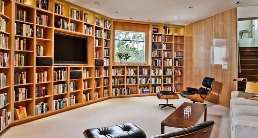 Large Bookshelf Idea Living Room Design Top Inspirations