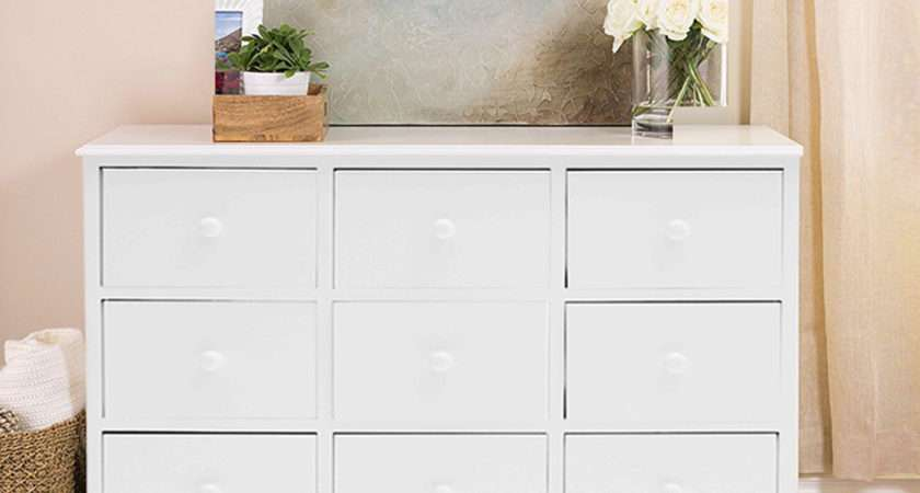 Large Chest Drawers Bedroom Furniture White Wood