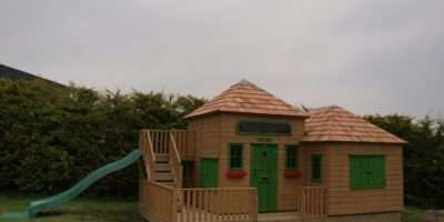 Large Childrens Playhouse Slide Playhouses