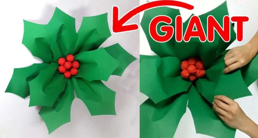 Large Christmas Decoration Diy Giant Hollyberry Hildur