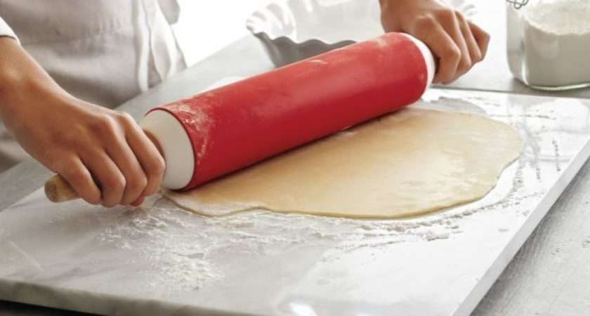 Large Kitchen Pastry Board White Marble Dough