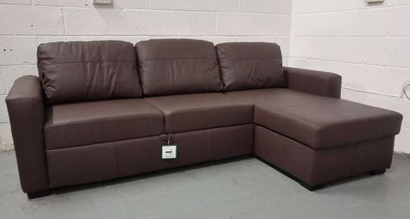 Large Leather Sofa Bed Awesome
