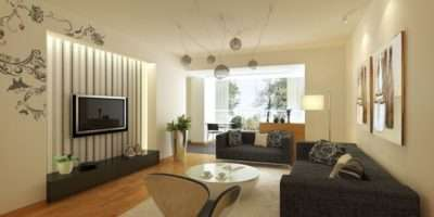 Large Living Room Wall Ideas Well Yellow Black Gray