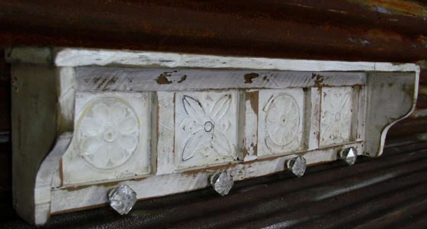 Large Primitive Wall Shelf French Country Lynxcreekdesigns