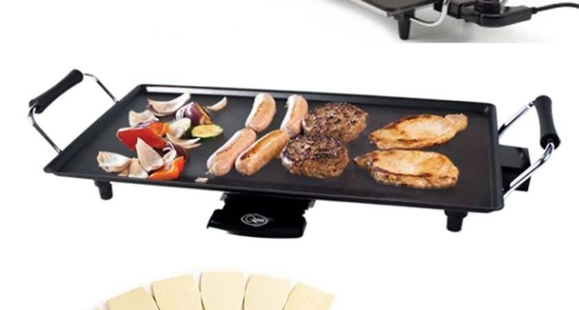 Large Teppanyaki Grill Table Electric Hot Plate Bbq