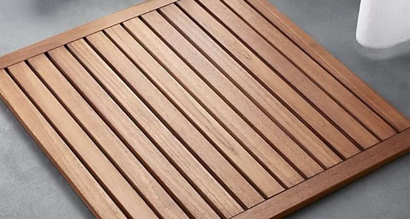Lateral Teak Bath Mat Reviews