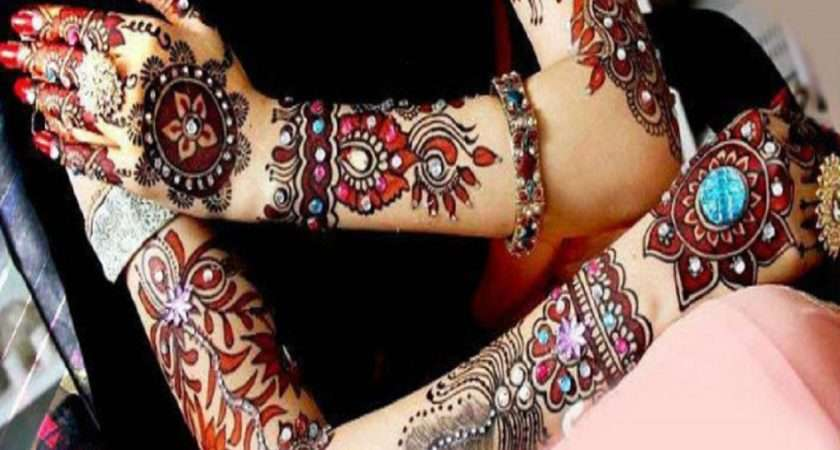 Latest Arabic Mehndi Designs Girls