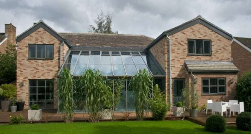 Lean Conservatories Modern Glass Extensions Apropos