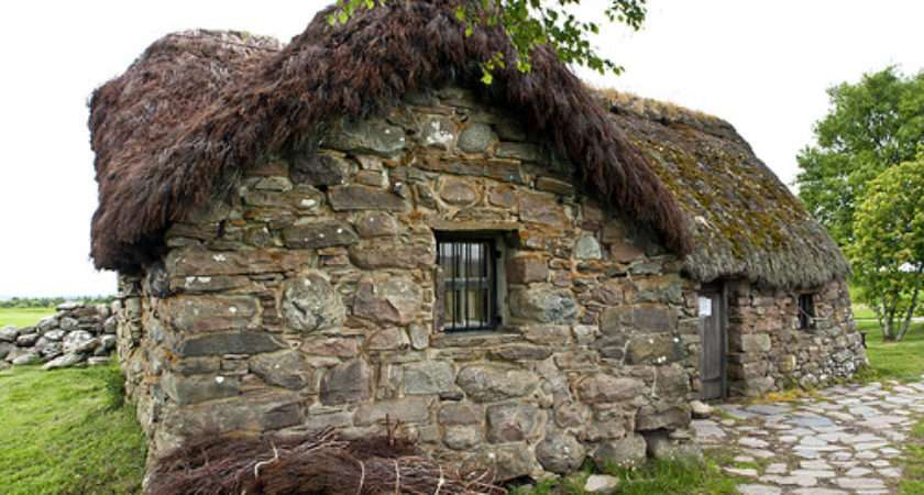 Leanach Cottage Thatch Path Lynn Davison Suckow Flickr