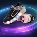 Led Lights Heelys Kids Shoes Light Wheels