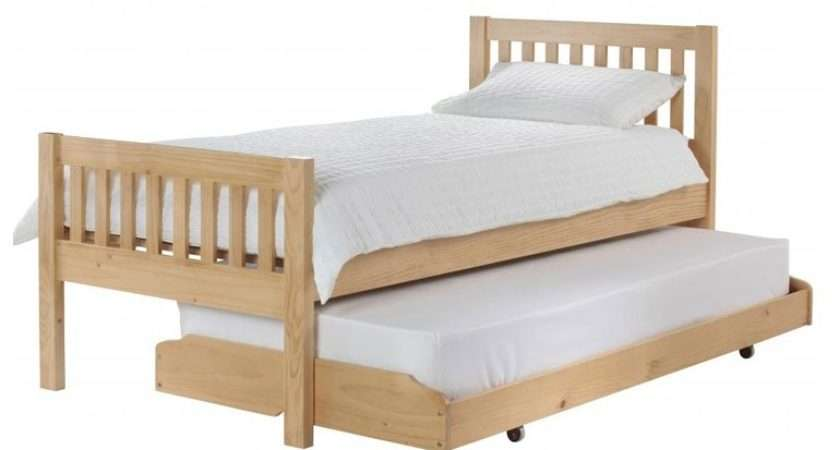 Lena Wooden Guest Bed Bedsonlegs
