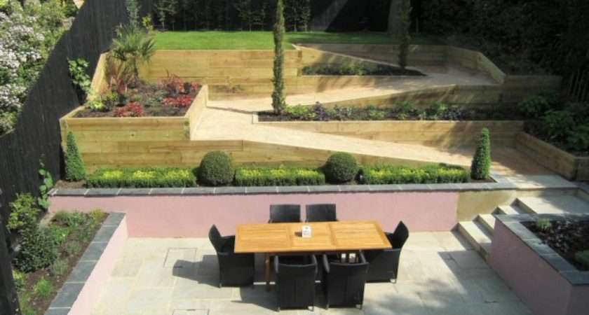 Life Designing Steeply Sloping Garden Design Gerrards Cross