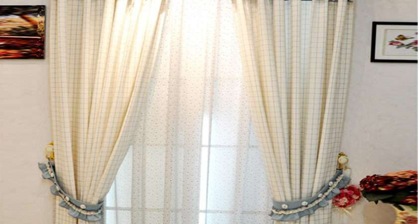 Light Blue Curtains Living Room Curtain