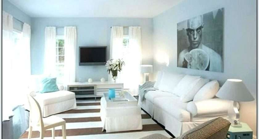 Light Blue Gray Wall Color Living Room Best Wiring