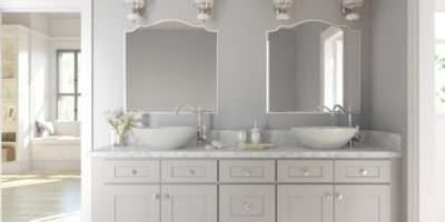 Light Colored Cabinets Bathroom Design Ideas