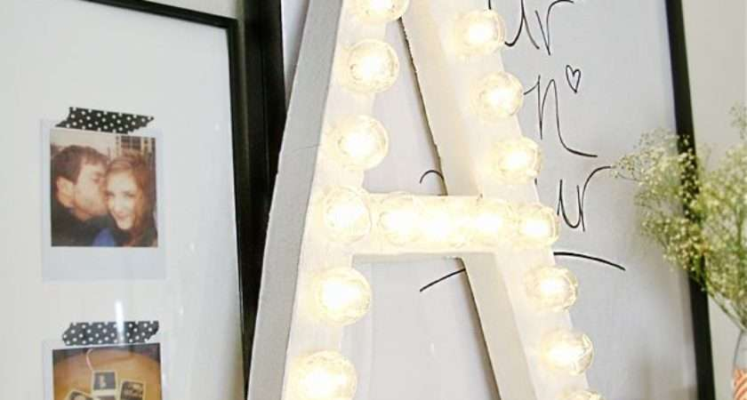 Light Room Cor Marquee Letters