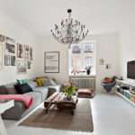 Light Stylish Scandinavian Living Room Designs