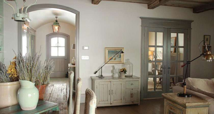 Like Any Rustic Interior Style Provence Uses Only Natural Eco