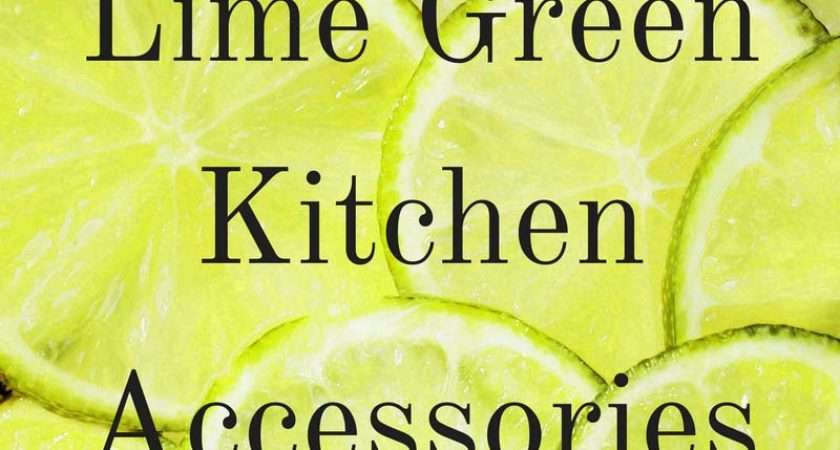 Lime Green Kitchen Accessories Ideas