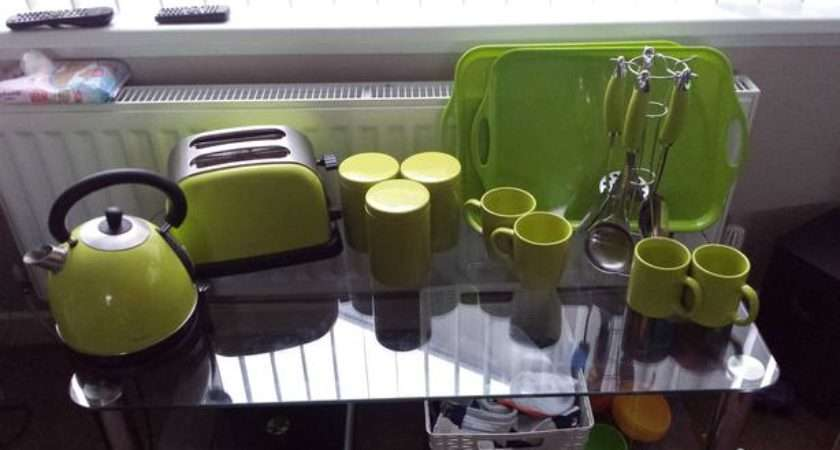 Lime Green Kitchen Appliances Accessories Rowley Regis