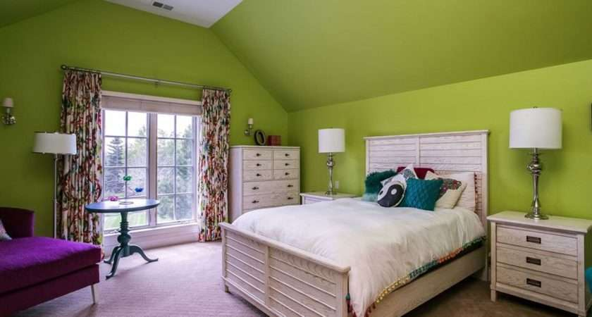 Lime Green Paint Bedroom Colors