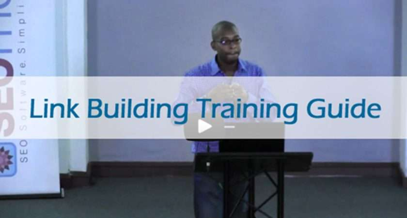 Link Building Training Guide Step