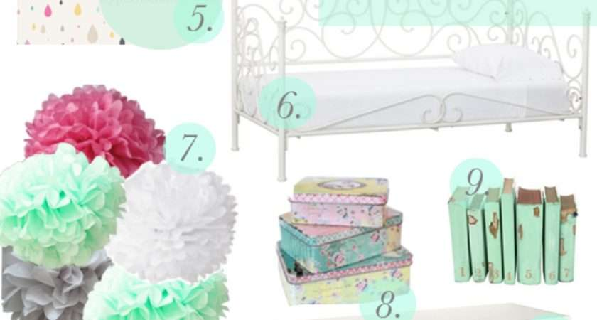 Little Girl Mint Green Bedroom Inspiration Megan