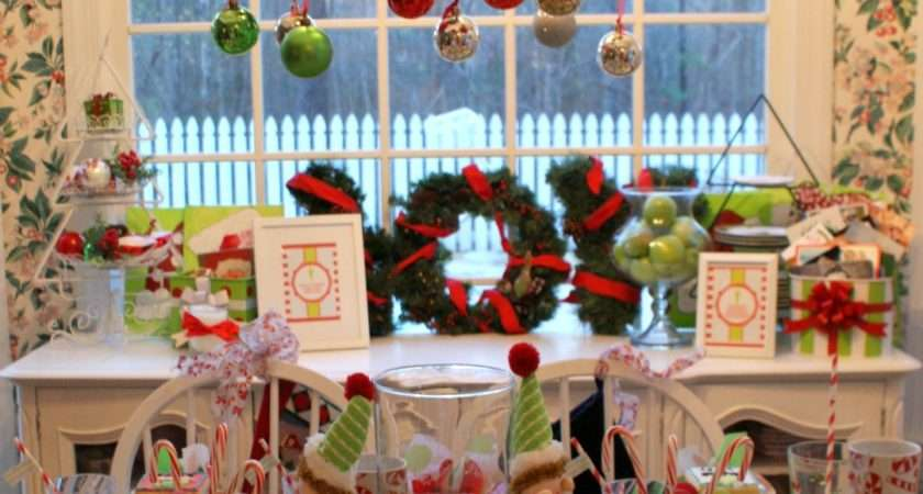 Little Loveliness Elf Movie Christmas Party