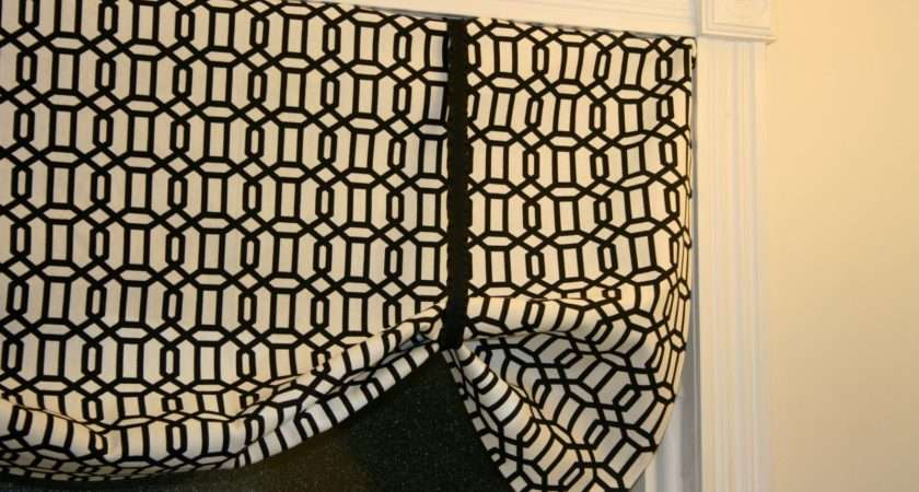 Little Lovely Super Easy Sew Curtains Valance