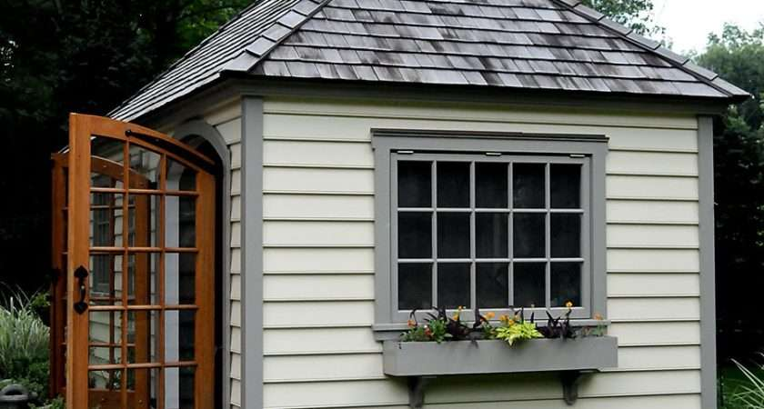 Little Red House Garden Shed