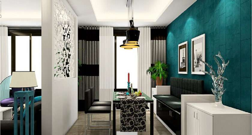 Living Dining Room Partition Ideas Glass Between Dma