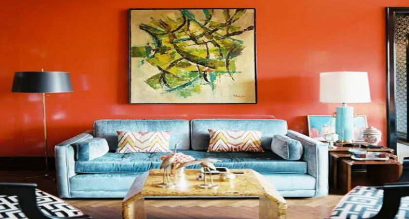 Living Room Bright Color Ideas Real