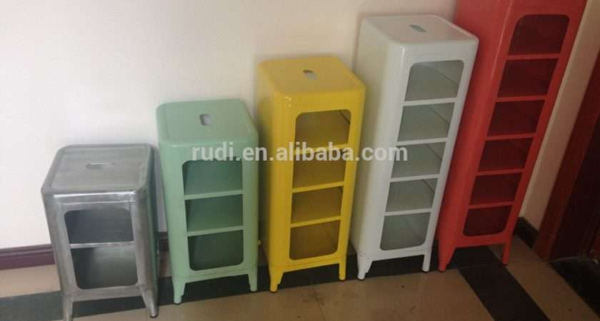 Living Room Cabinet Low Stool Small Storage