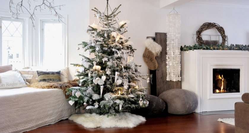 Living Room Christmas Decorations Designrulz