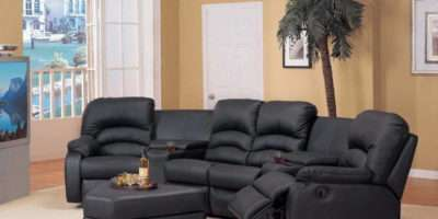 Living Room Curved Sectional Sofas