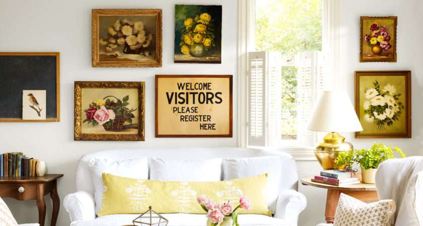 Living Room Decorating Ideas Beautiful Thrift Store