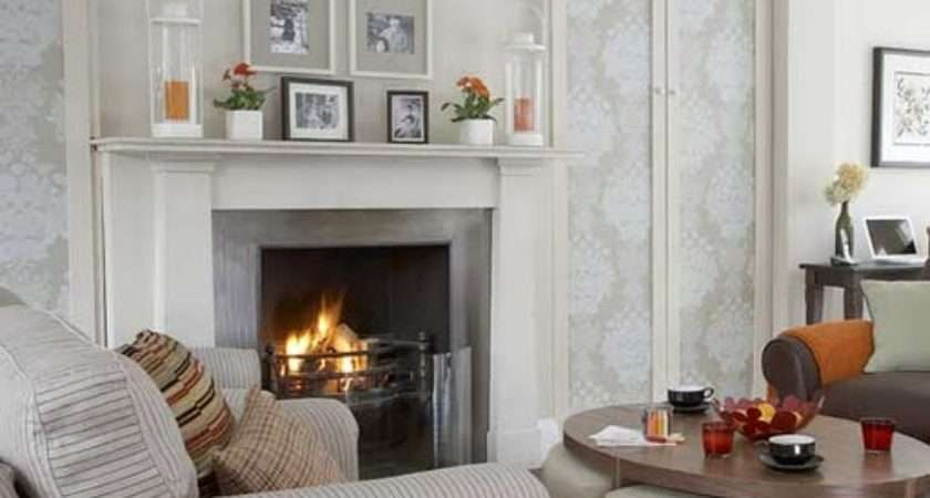 Living Room Designs Fireplace Amazing Home