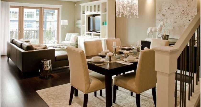 Living Room Dining Decorating Ideas Good
