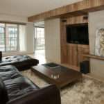 Living Room Feature Wall Alison Milne Design