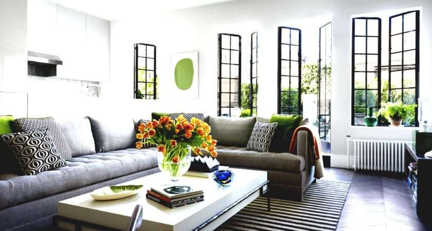 Living Room Ideas Grey Sectional Hgtv Decorating