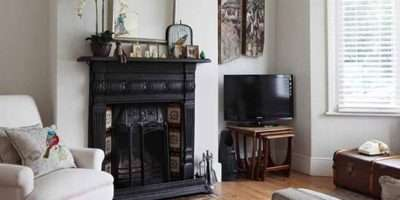 Living Room London Terraced House Tour