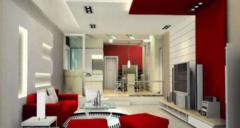 Living Room Modern Bright Colors