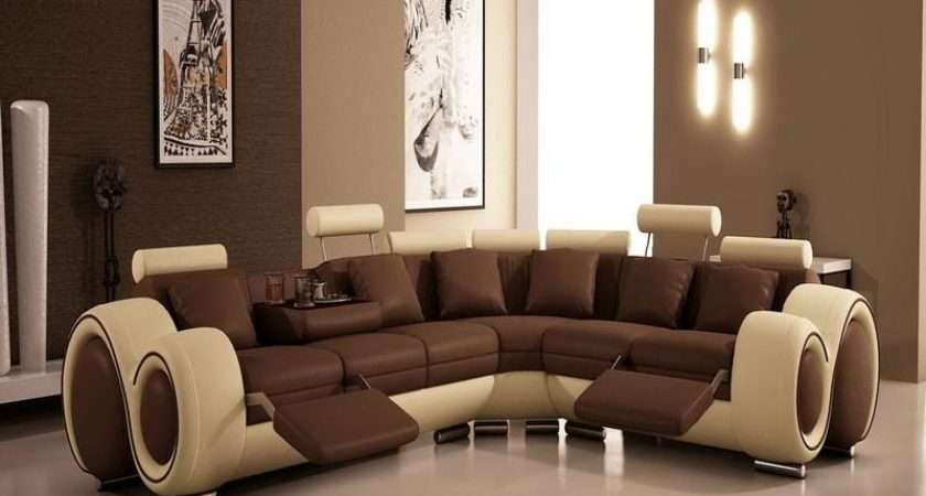 Living Room Paint Colors Modern Brown