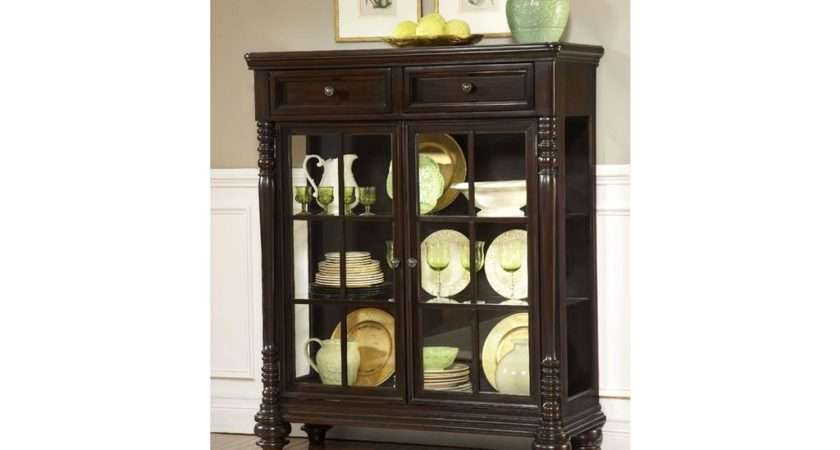Living Room Small Curio Cabinet Miller