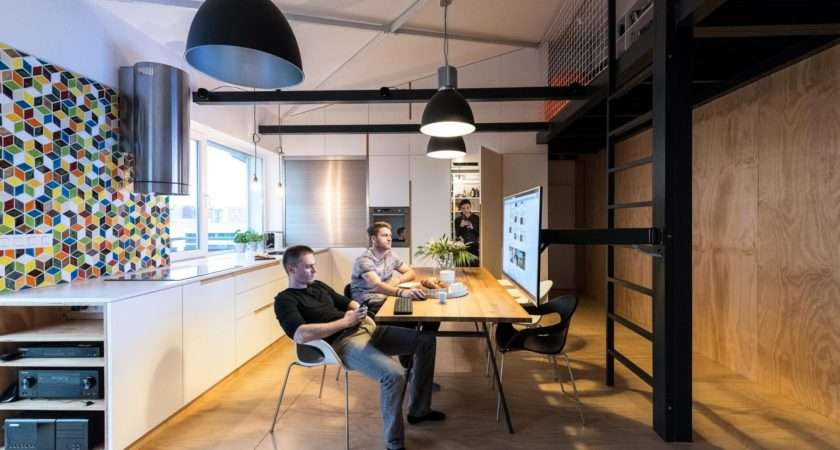 Loft Design Makes Clever Its Space