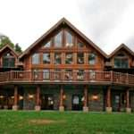 Log Home Acreage Lakefront United Country